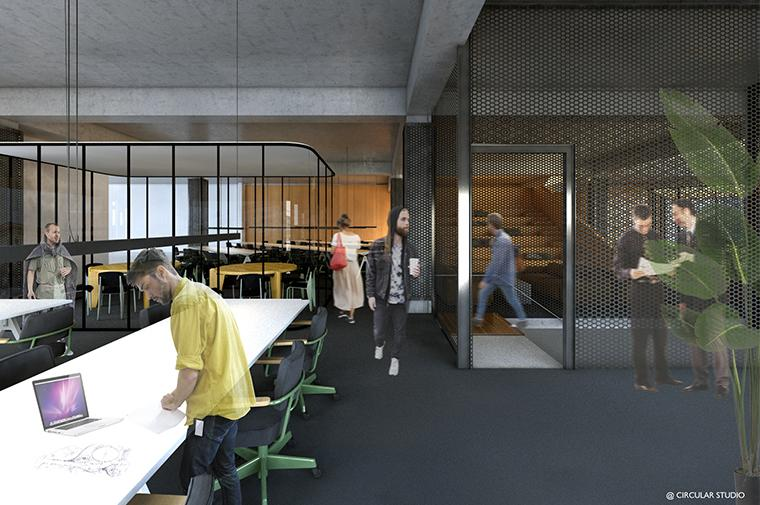 #glories#barcelona#working#village#coworking @circular_studio ©Circular Studio