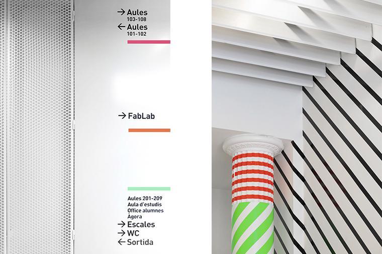 LCI Barcelona Design University Balmes renovation fashion  @CircularStudio
