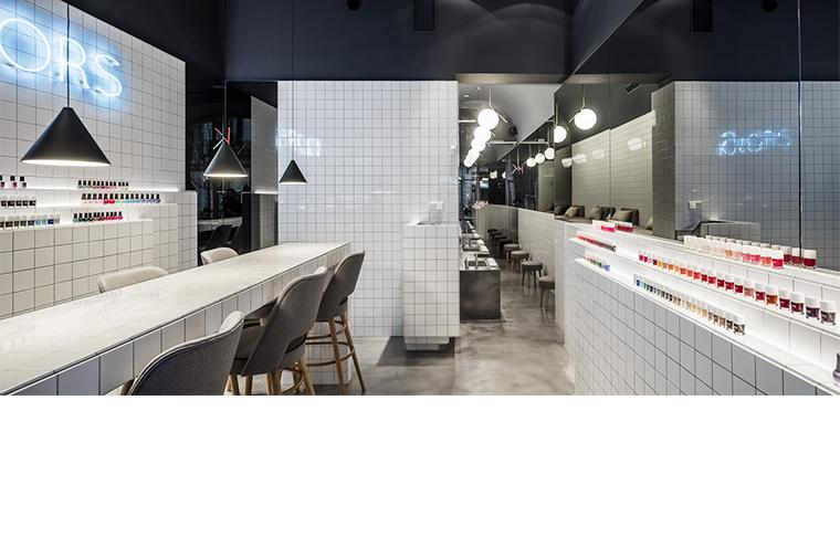 Retail Barcelona Nail Bar Interior Design Architecture ©Circular Studio