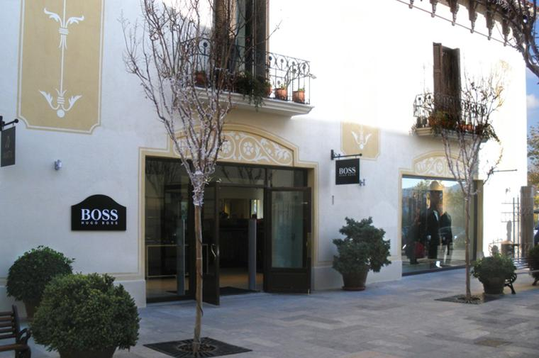 hugo boss outlet, la roca village © Circular Studio