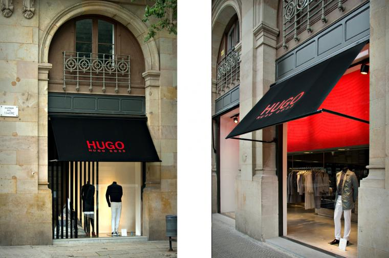 Hugo Boss, El Born © Circular Studio
