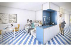 sunway apartment hotel sitges renovation design interior © Circular Studio