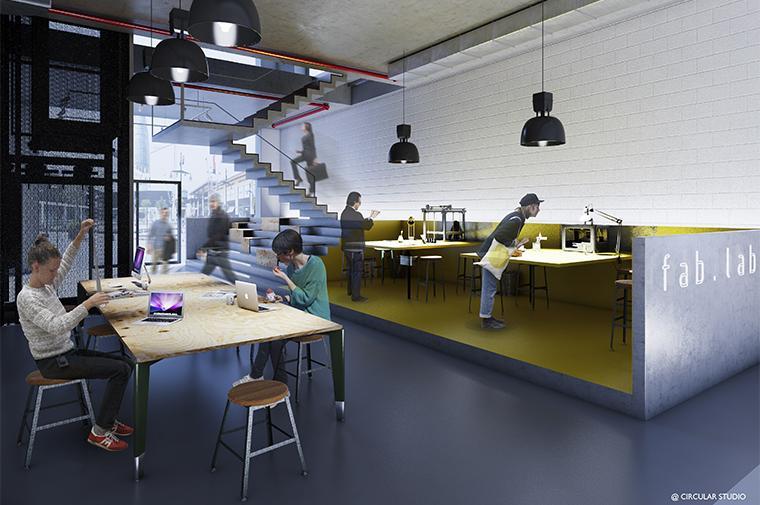 #glories#barcelona#working#village#coworking @circular_studio ©Circular Studio