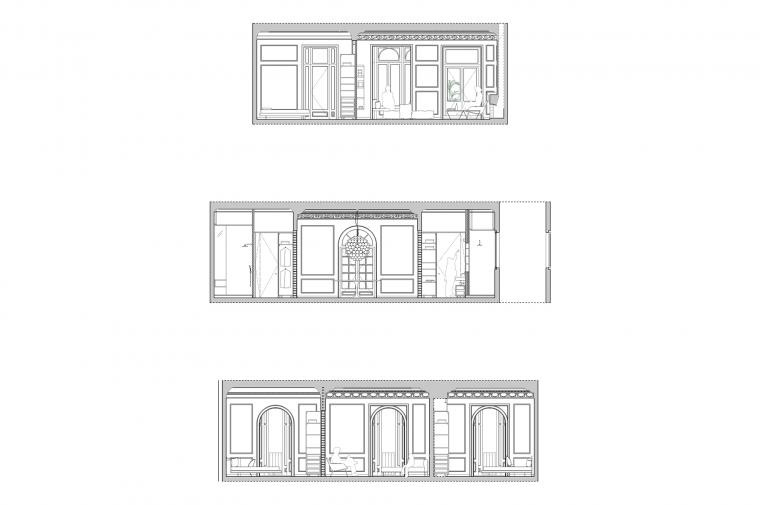 #renovation#architecture#barcelona#apartment @circular_studio © Circular Studio