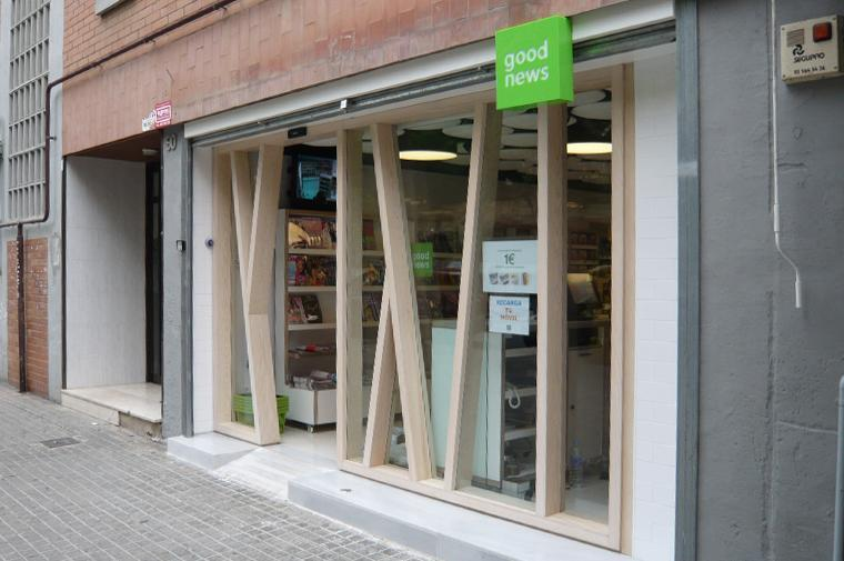 Good News, Barcelona © Circular Studio, Fernando Ansorena, Saeta Good News, Barc