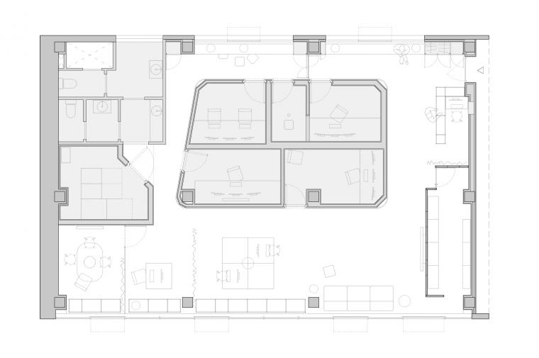 oficinas wopg, Sant Just Desvern, Barcelona © Circular Studio