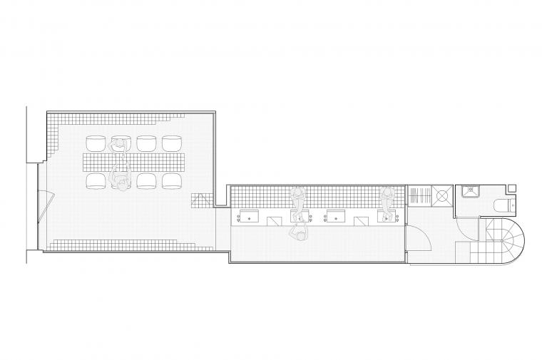 #retail #barcelona #nailbar #interiordesign #architecture ©Circular Studio